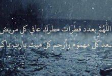 صورة دعاء المطر..اللهم صيبا نافعا.. وصيب هنيئا .. اللهم حوالينا ولا علينا
