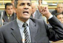 صورة لجنة الوفد ببندر دسوق تساند النائب محمد عبد العليم داود بعد طرده من جلسة مجلس النواب