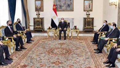 صورة الرئيس السيسي : القضية الفلسطينية هي جوهر قضايا الشرق الأوسط، وان تسويتها سيغير واقع المنطقة بأسرها إلى الأفضل