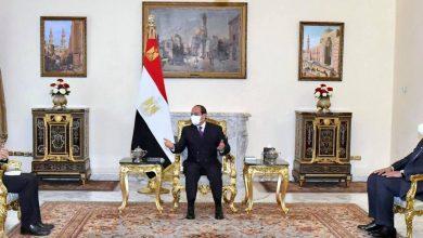 صورة الرئيس السيسي يعرب عن التطلع لنقل الخبرات والتكنولوجيا الفرنسية  في كافة المجالات التنموية إلى مصر