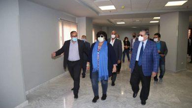 صورة وزيرة الثقافة تتفقد الأعمال الإنشائية في واحة الثقافة بمدينة 6 أكتوبر