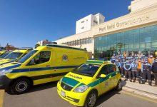 صورة محافظ بورسعيد  يتفقد ١١ سيارة إسعاف جديدة تضم غرف عناية مركزة متنقلة