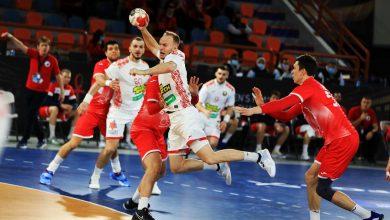 صورة مونديال اليد 2021.. منتخبي روسيا وبلاروسيا يتعادلان 32-32