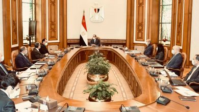 صورة الرئيس السيسي : تسوية القضية الفلسطينية سيغير من واقع وحالة المنطقة بأسرها إلى الأفضل