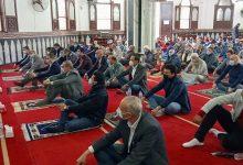 صورة خطيب الجمعة بمسجد الاستاد بكفر الشيخ : يجوز اخراج الزكاة لمرضي كورونا