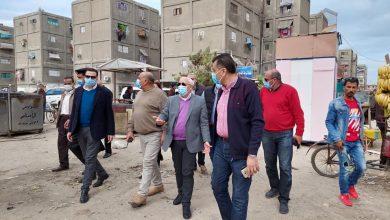 صورة محافظ بورسعيد: إقامة سوق حضاري بمنطقة القابوطي ومسطحات خضراء .