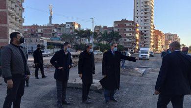 صورة محافظ كفر الشيخ يتفقد الأحياء لمتابعة كسح مياه الأمطار