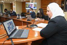 """صورة نيفين القباج تلتقى 24 طالبا من المتفوقين من أبناء الأسر المستفيدة من """" تكافل وكرامة"""""""