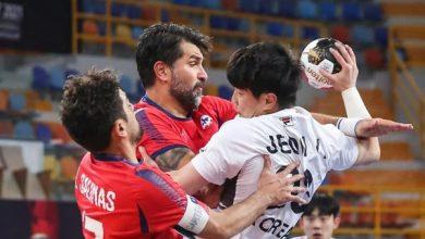 صورة مونديال اليد ..تشيلي تفوز على كوريا الجنوبية في افتتاح لقاءات المجموعة الثانية  بنتيجة 44 -33