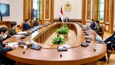 """صورة الرئيس السيسي يتابع المشروع القومي """"مستقبل مصر"""" والذي يهدف إلى زيادة الرقعة الزراعية لمصر"""