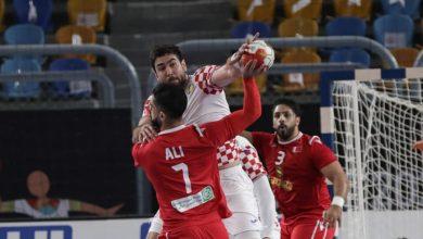صورة مونديال اليد 2021…كرواتيا تفوز على البحرين بنتيجة كبيرة 28 -18