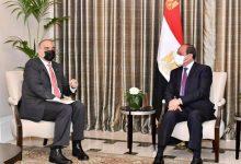 صورة الرئيس السيسي يستعرض مع رئيس وزراء الأردن آخر مستجدات الأوضاع فى المنطقة خاصةً فى كلٍ من سوريا وليبيا واليمن