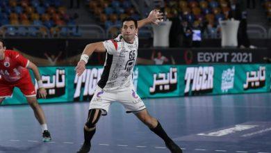 صورة مونديال اليد 2021..أحمد الأحمر رجل مباراة مصر  والاتحاد الروسي