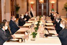 صورة الرئيس السيسي: استمرار مصر في مساعيها الدؤوبة تجاه القضية الفلسطينية، لكونها من ثوابت السياسة المصرية