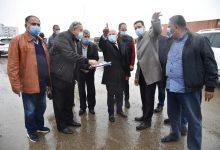 صورة محافظ بورسعيد يتفقد اعمال تطوير محيط منفذ النصر الجمركي المطور