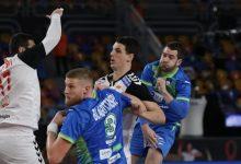 صورة مونديال اليد 2021:سلوفينيا يفوز على مقدونيا بنتيجة 31 -21 فى الدور الرئيسي  ببطولة العالم