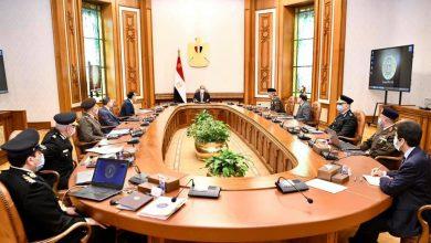 """صورة الرئيس السيسي يطلع على """"تطوير منشآت وزارة الداخلية على مستوى الجمهورية"""""""