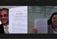صورة اتفاقية تعاون بين وزارة الاتصالات ودل تكنولوجيز لاطلاق هاكاثون للذكاء الاصطناعى
