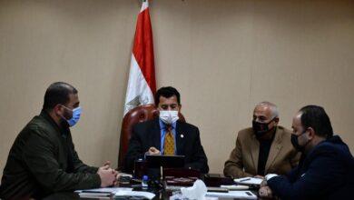 صورة وزير الرياضة للاعبي المنتخب الوطني : ننتظر منكم تحقيق الإنجاز الأهم لكرة اليد المصرية