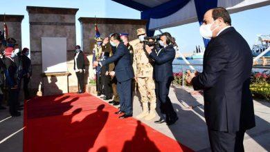 صورة الرئيس  السيسي يفتتح مشروع الفيروز للإستزراع السمكي بشرق التفريعة بمحافظة بورسعيد