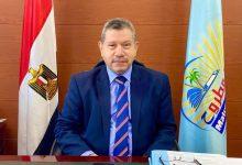 صورة رئيس جامعة مطروح يهنئ مدير الأمن بالذكرى الـ69 لعيد الشرطة