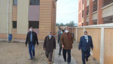 صورة تعليم الغربية.. أربعة لجان متابعة في زيارة مفاجئة لإدارة بسيون التعليمية
