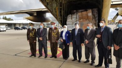 صورة وزيرة الصحة: إرسال ٣١ ألف طن من الأدوية والمستلزمات والأجهزة الطبية لدعم القطاع الصحى بلبنان لمواجهة كورونا