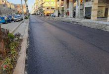 صورة محافظ بورسعيد : بدء أعمال الأسفلت بشارع الأمين بنطاق حى المناخ