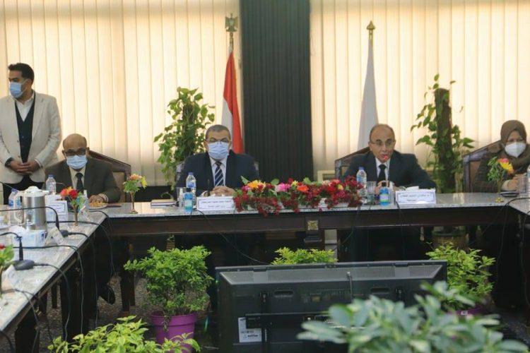 مجلس جامعة الزقازيق
