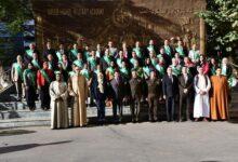 صورة وزير الشباب يشهد حفل تخرج دورة الإستراتيجية والأمن القومي رقم (68)