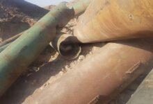صورة شرطة البصرة : العثور على مخلفات حربية خطيرة