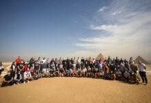 صورة مونديال اليد 2021.. ١٥٠ إعلاميا اجنبيا يزورن أهرامات الجيزة