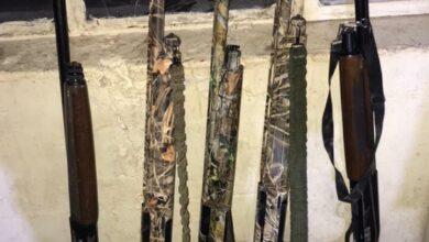 صورة العراق ..القبض على ٤ اشخاص بحوزتهم بنادق صيد