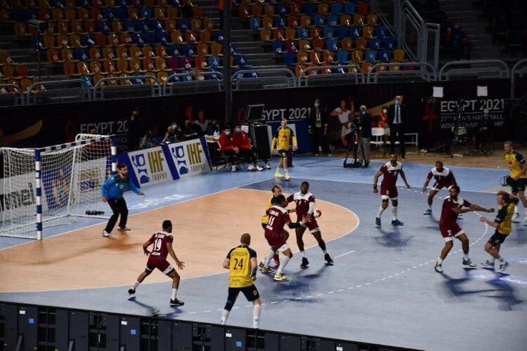 مباراة قطر والسويد
