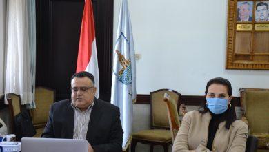 صورة جامعة الإسكندرية :وضع أليات تنفيذ قرارات مجلس الوزراء والمجلس الأعلى للجامعات وخطة استكمال الفصل الدراسي الأول