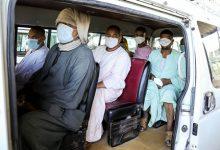 صورة ضبط 12188 شخص لعدم الإلتزام بإرتداء الكمامات الواقية خلال 24 ساعة