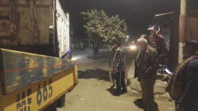 صورة الانتهاء من خطة أعمال الرصف والتطوير شارع البحر بزفتي
