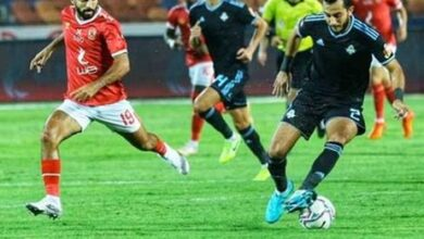صورة الأهلي وبيراميدز يتعادلان بدون أهداف بالدوري