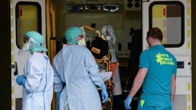 صورة تسجيل 35 وفاة وحوالي 1200 اصابة بالفيروس في بلجيكا خلال الـ 24 ساعة الاخيرة