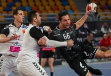 صورة مونديال اليد 2021..منتخب مصر يتقدم على  مقدونيا 20 – 6 فى الشوط الأول