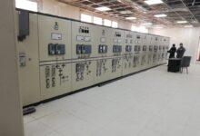 صورة إطلاق التيار الكهربائي بمحطة محولات المنطقة الصناعية بالتجمع الثالث بالقاهرة الجديدة