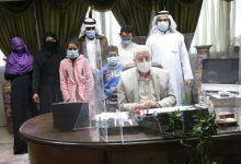 صورة محافظ جنوب سيناء يستقبل أسرة الشيخ عيد هليل بعد انهائهم جميع إجراءات الجنسية المصرية