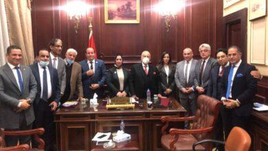 صورة نواب الوفد يرفضون استقالة أبو شقة.. ويطالبونه برئاسة الهيئة البرلمانية بالشيوخ