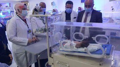 صورة وكيل صحة الغربية يجري زيارة مفاجئة لمستشفى زفتي العام وحميات زفتي