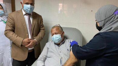 صورة وكيل صحة الغربية : بدء تلقى لقاح كورونا بمستشفي كفر الزيات العام