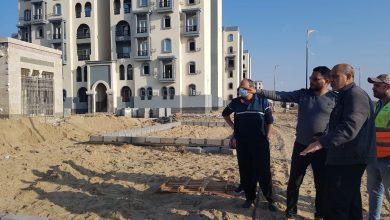 """صورة مسئولو """"الإسكان"""" يتفقدون مشروعات مدينة المنصورة الجديدة"""