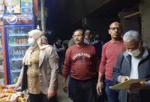 صورة حملة مكبرة لرئيسة مدينة طهطا لضبط المخالفين