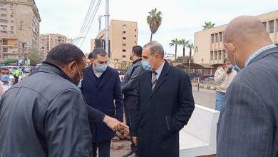 صورة محافظ كفر الشيخ يتابع رفع مياه الأمطار وأعمال التطوير في عدد من شوارع العاصمة