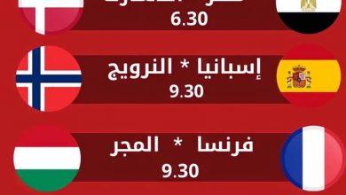 صورة جدول مباريات الدور ربع نهائي لبطولة كأس العالم لكرة اليد