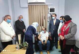 صورة صحة الأقصر تعلن وصول استقبالها لقاح كورونا وتطعيم الفرق الطبية…صور
